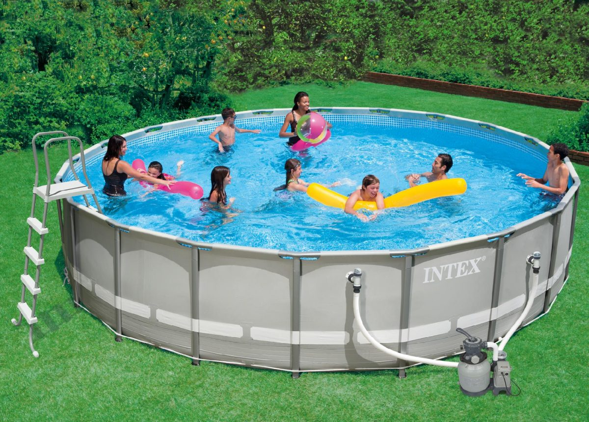 How to vacuum intex pool with sand filter