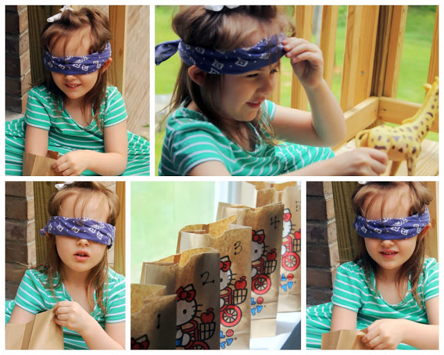 TOUCH & FEEL SENSORY BAG GUESSING GAME