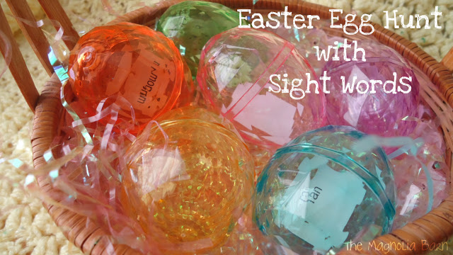 SIGHT WORD EASTER FUN